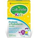 Culturelle 康萃乐 儿童益生菌&完整多种维生素咀嚼片 | 包含维生素C和锌| 30片