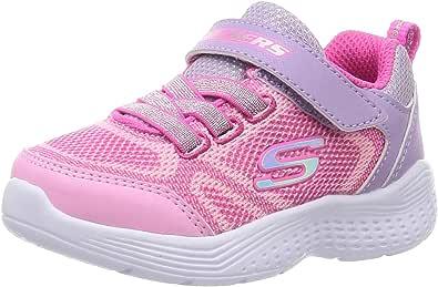 SKECHERS 斯凯奇 运动鞋 Snap Sprints 81372L 女孩 薰衣草×粉色 21.0 cm 2E