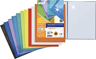 SEI ROTA 89370 个性化文件夹 Asso Ti,20个外壳,不同颜色