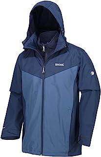 Regatta 男式 Telmar Iii 防水压条接缝连帽内衬 3 合 1 夹克