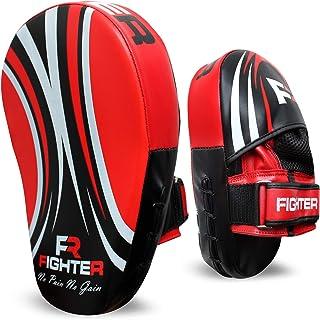 FR FIGHTER Focus Pad Pro Impact Focus 手套挂钩和下巴衬垫,适合男士、女士和女孩
