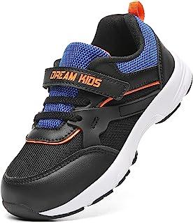 幼儿/小童鞋男孩女孩透气针织跑步运动运动鞋网球步行鞋
