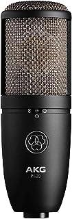 AKG P420 录音麦克风, 银蓝色, 9.80 x 5.50 x 9.00 英寸/约24.89厘米x 13.97厘米x 22.86厘米 (3101H00430)