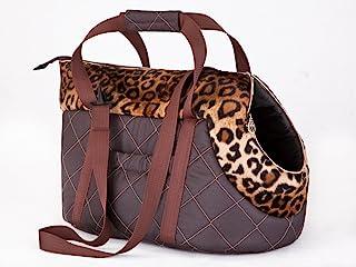 狗狗手提袋,猫咪手提袋 10 - Braun Gepard 1 - HxBxL - 22x20x36 cm