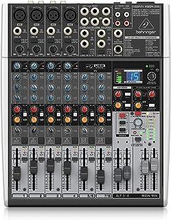 Behringer Xenyx X1204USB调音台,带USB音频接口(12通道,2/2总线)
