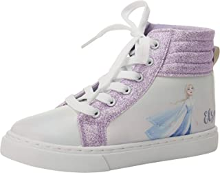 Disney 迪士尼女童运动鞋 - 冰雪奇缘高帮跑鞋(小童/大童)