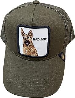 Goori Brother 动物棒球帽夏季卡车司机帽网眼后扣嘻哈帽男式刺绣棒球帽 c.o.c.k