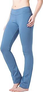 Fishers Finery 女式 Ecoffabric 直筒瑜伽裤带后口袋