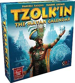 Rio Grande Games Tzolk'in:玛雅日历棋盘游戏
