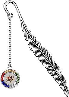 UJIMS 东方星秩序灵感礼品 OES 符号魅力串珠手链 OES 姐妹会珠宝,适用于 BFF 姐妹友谊礼物