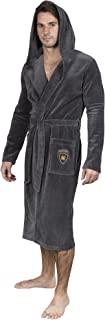 Yugo Sport 男士睡袍 - 男士毛绒浴袍 - 和服西班牙长连帽睡袍