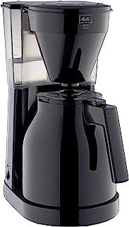 Melitta 美乐家 Easy Therm 滴漏式咖啡机 紧凑型设计 黑色 1023-06