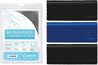 IBENZER 微纤维清洁布 适用于电子设备 – 微纤维相机镜头清洁布,玻璃、屏幕、眼镜、iPad、iPhone、手机、LCD 电视屏幕等,MF01S-3P-A