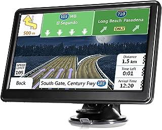 汽车卡车 GPS 导航,*新地图触摸屏 7 英寸 8G 256M 导航系统,带语音指导和速度相机警告,终身免费地图更新