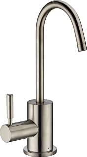 Whitehaus WHFH-H1010 使用点热水龙头,带自闭手柄 灰色(Brushed Nickel) WHFH-H1010-BN