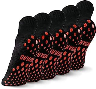 NOVAYARD 5 双防滑袜,*防滑粘性袜,瑜伽普拉提袜,男式女式