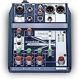 Soundcraft Notepad-5 小格式模拟混音控制台,带 Usb