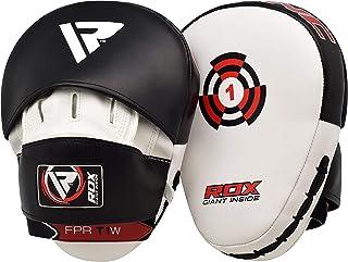 RDX 拳击垫钩和睡垫 MMA 目标聚焦拳击手套 泰拳防踢罩