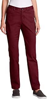 Eddie Bauer 女士 Legend Wash 曲线长裤