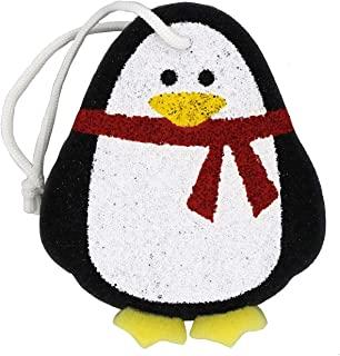 高级儿童&婴儿动物洗澡海绵 圣诞礼物(企鹅)