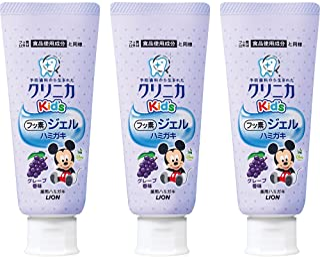 Clinica Kid's 啫喱牙膏 葡萄味 60g 3个装 非医药用品