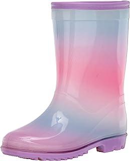 Carter's 中性款儿童 Sirena 套穿雨靴雨靴