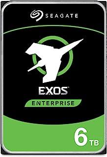 SEAGATE 希捷 Exos 7E8 Enterprise Class 内置硬盘 6 TB 3.5 英寸 银色,型号:ST6000NM021A