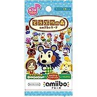 Nintendo 任天堂 集合吧!动物森友会~ amiibo卡片 第3弹(5包套装)