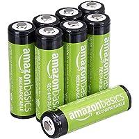 AmazonBasics 亚马逊倍思 AA充电电池 预充电,8节装(包装或有不同)