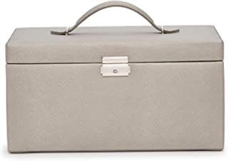 WOLF Heritage XL 首饰盒,锡合金十字纹