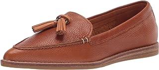 Sperry 女式 Saybrook 一脚蹬滚磨皮革运动鞋