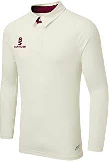 Surridge Sports 儿童 Ergo 长袖板球衬衫