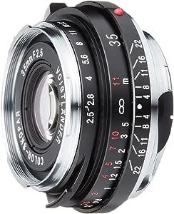 VoightLander 单焦点广角镜头 COLOR-SKOPAR 35毫米 F2.5 PII 130715 <BR>