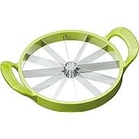 KitchenCraft *饮料梅龙切片机和水熔切片,绿色,23.5厘米