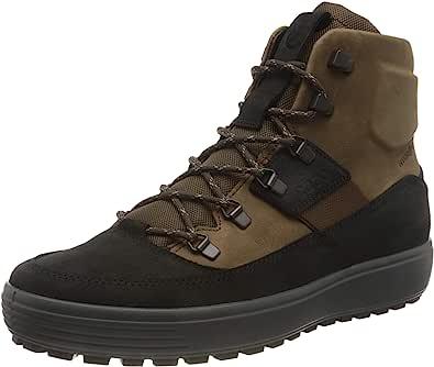 ECCO 爱步 男式 Soft 7 Tred M Blackcocoa Brownblack 运动鞋