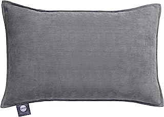 [Amazon.co.jp限定] Kumori 靠垫套 素色 简约 高级感 北欧 时尚 亲肤 2 件装(灰色、30×50 厘米)