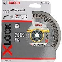 Bosch 博世专业钻石切割圆盘标准(通用,X-LOCK,直径 115 毫米,孔径:22.23 毫米,切割宽度 2 毫米…