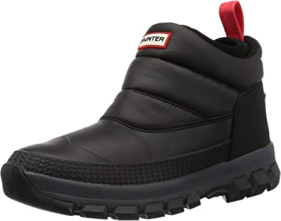 HUNTER 雪地靴 M ORG INSULATED SNOW ANKLE BT