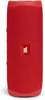 JBL FLIP5 Bluetooth音箱 IPX7级防水/USB Type-C充电/搭载无源辐射器/便携式 红色 JBLFLIP5RED