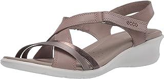 ECCO 爱步 女士Felicia坡跟凉鞋