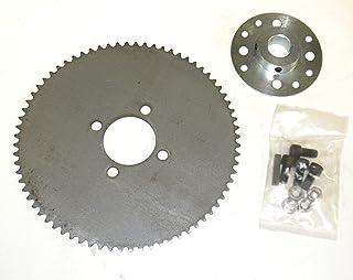 卡丁车链轮和轮毂用于 2.54cm 轴 72T #35 链条