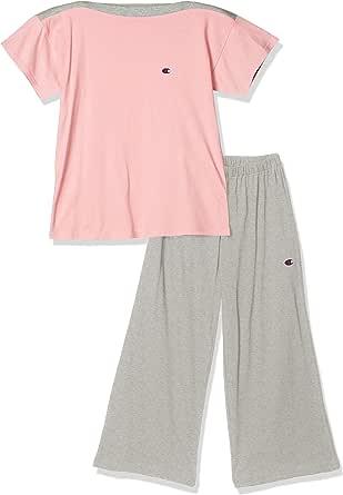 [Champion] 家居服 短袖上衣7分裤 30SZ天竺棉 女款