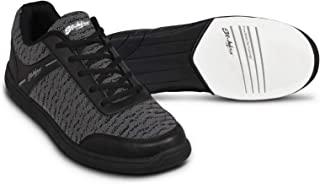 KR Strikeforce 男式 Flyer 网眼保龄球鞋 黑色/钢