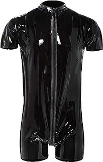 Latex 系列 29100981711 男士乳胶运动衣黑色 M 码(Nero 001)