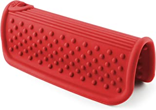 Dexas Cool Grip 硅胶锅柄支架 红色 6x3.5x2.5 英寸 GHH2-1795