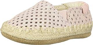 Robeez 女童 Espadrille-First Kicks 婴儿鞋微光适合 0-3 个月