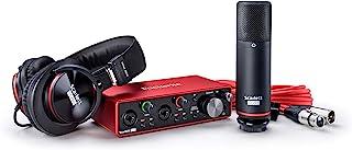 Focusrite Scarlett Studio *三代 USB 音频接口AMS-SCARLETT-2I2-STU-3G Scarlett 2i2
