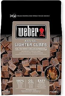 Weber 烧烤 烤炉 BBQ 烤架 点火剂 * 天然材料点火立方块 48 个装(一次只需 33 日元) 17612