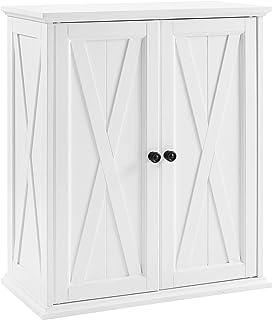 Crosley Furniture Clifton 可堆叠食品柜,仿旧白色