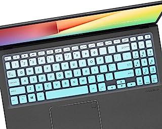键盘保护套兼容华硕 VivoBook F512DA F512FA F512JA X512FA X512DA / VivoBook 15 S15 S512 S530UA S530FA,15.6 英寸 ASUS VivoBook 笔记本电脑键盘保护...